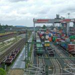 Schienenanbindung mit dem KV-Terminal