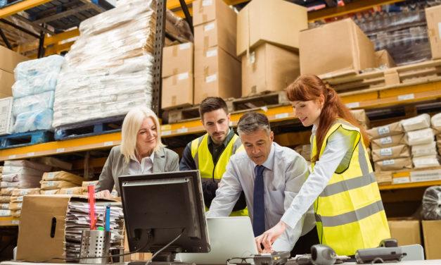 Logistikbeschäftigung in der Region