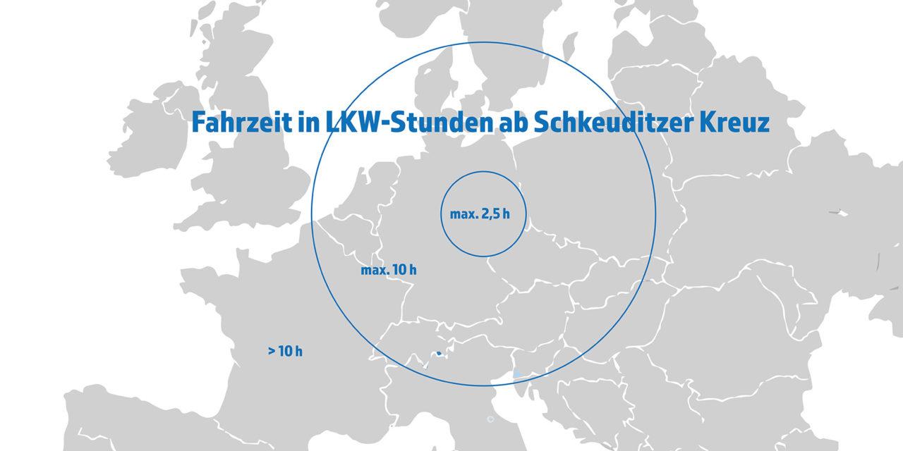 Infrastruktur der Logistikregion Leipzig-Halle