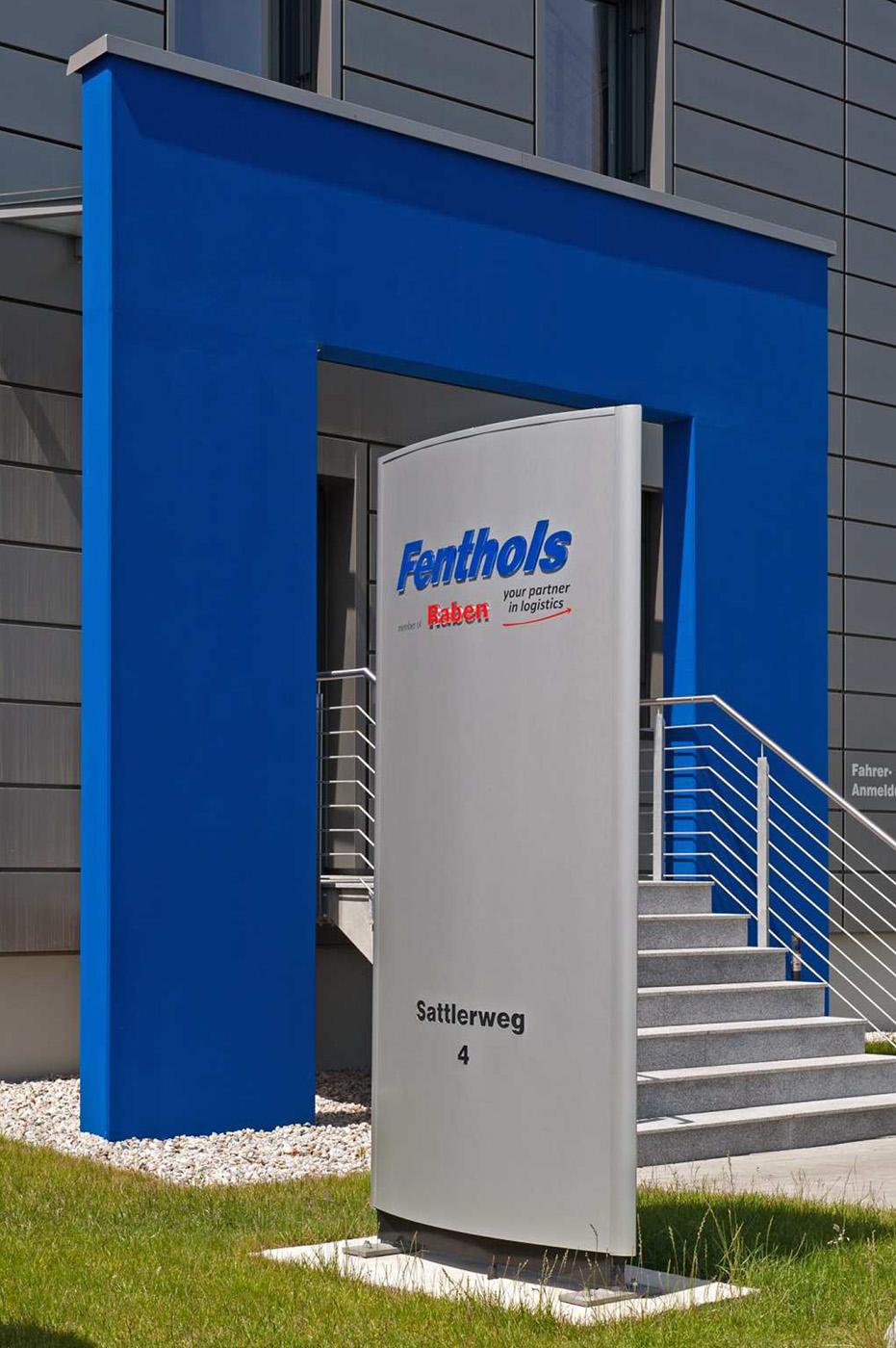 Eingang Fenthol & Sandtmann GmbH