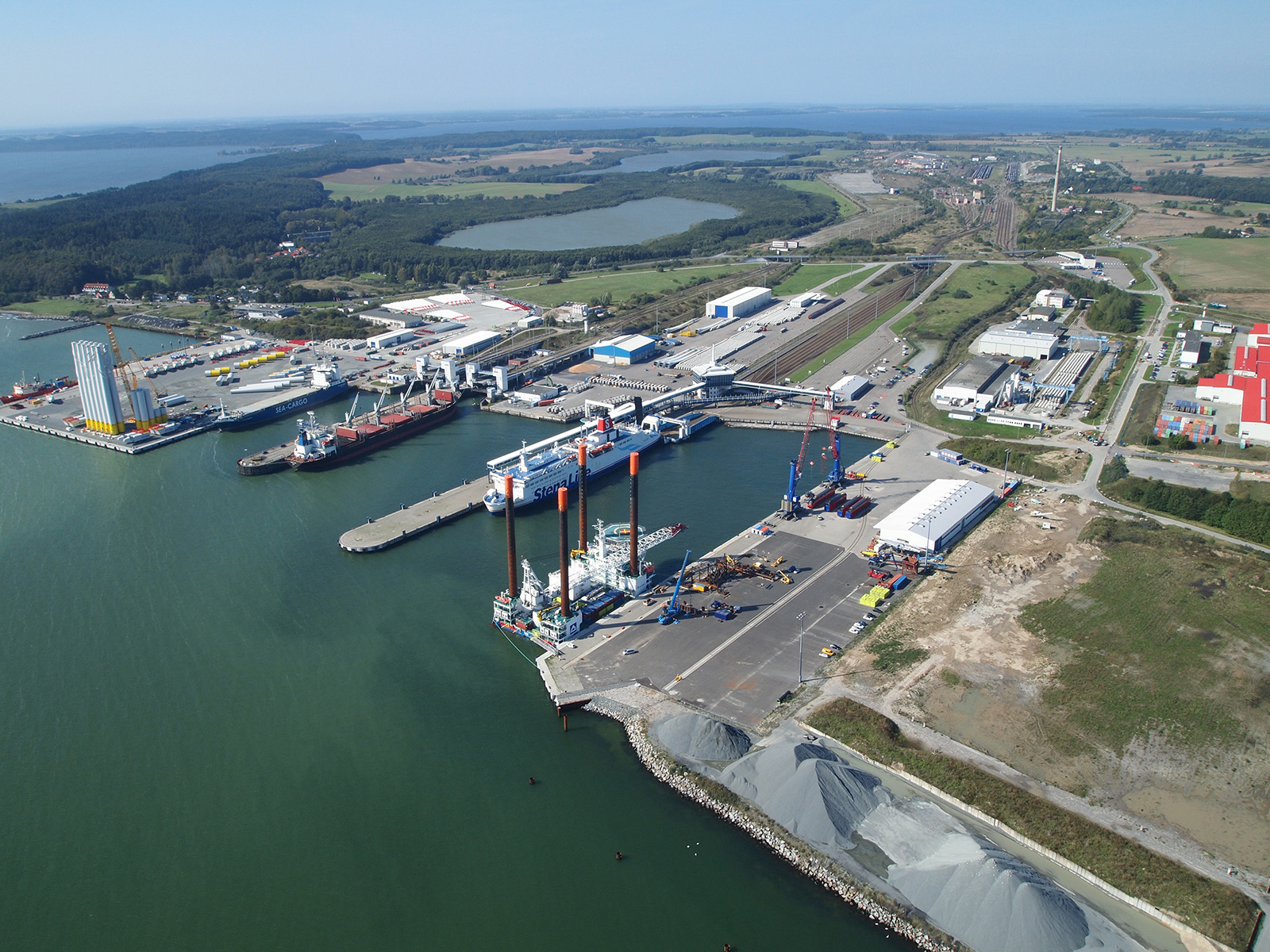 Mukran Port Hafen