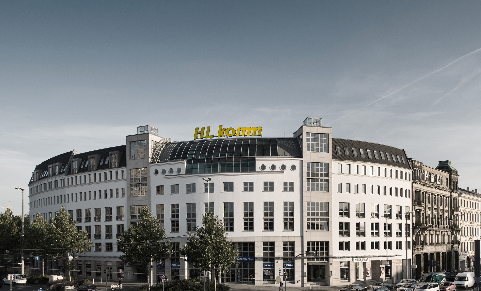 Sitz der HL komm Telekommunikations GmbH