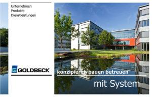 """Download Präsentation """"Goldbeck – Unternehmen, Produkte, Dienstleistungen"""""""