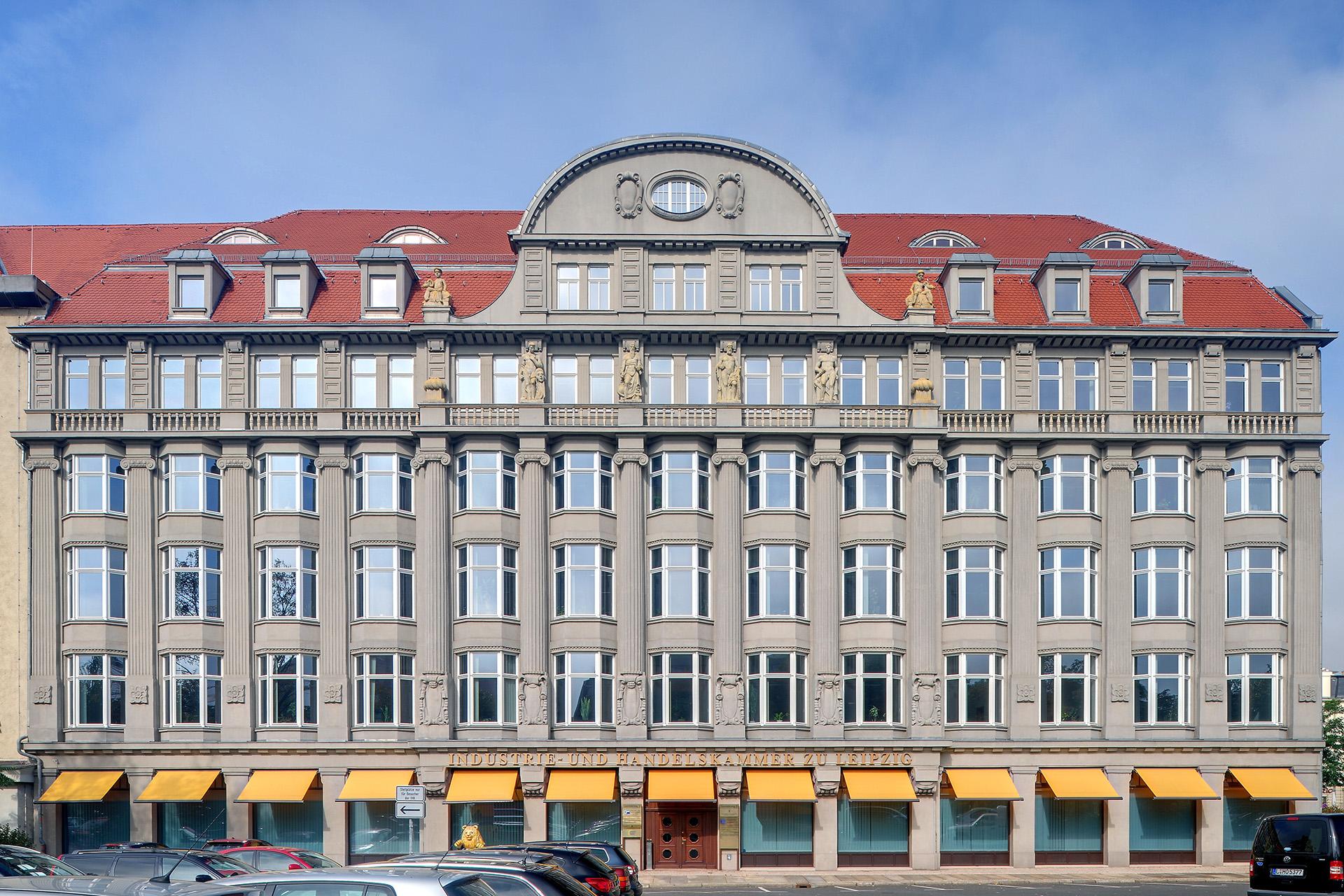 Das Gebäude der IHK zu Leipzig