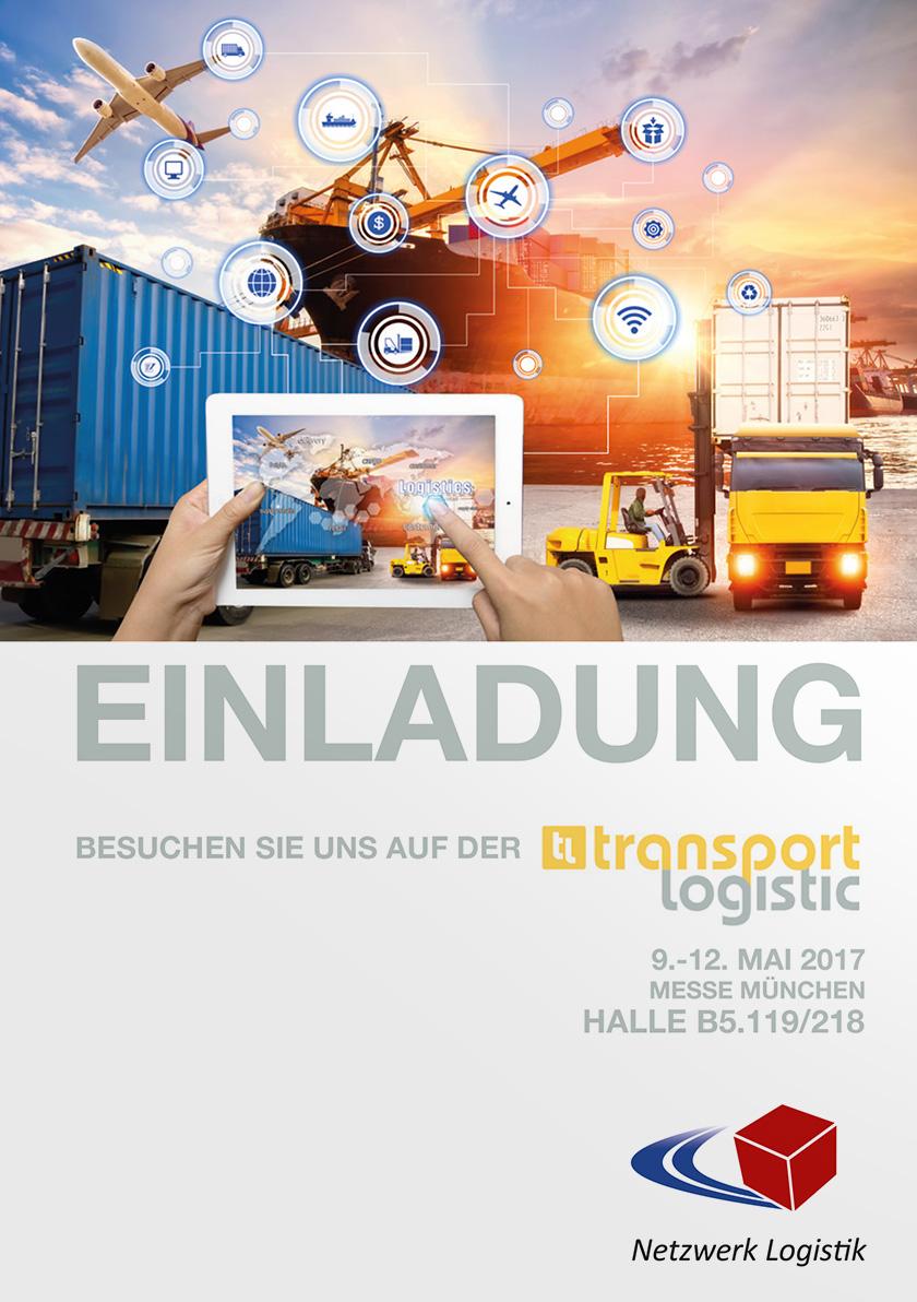 Download Einladungen Geschäftspartner zur transport logistik 2017