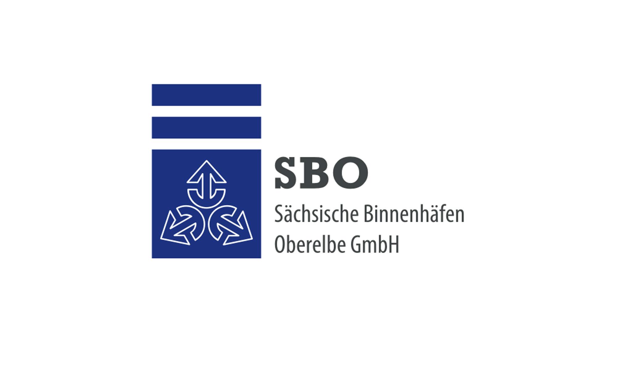 Logo Sächsische Binnenhäfen Oberelbe GmbH