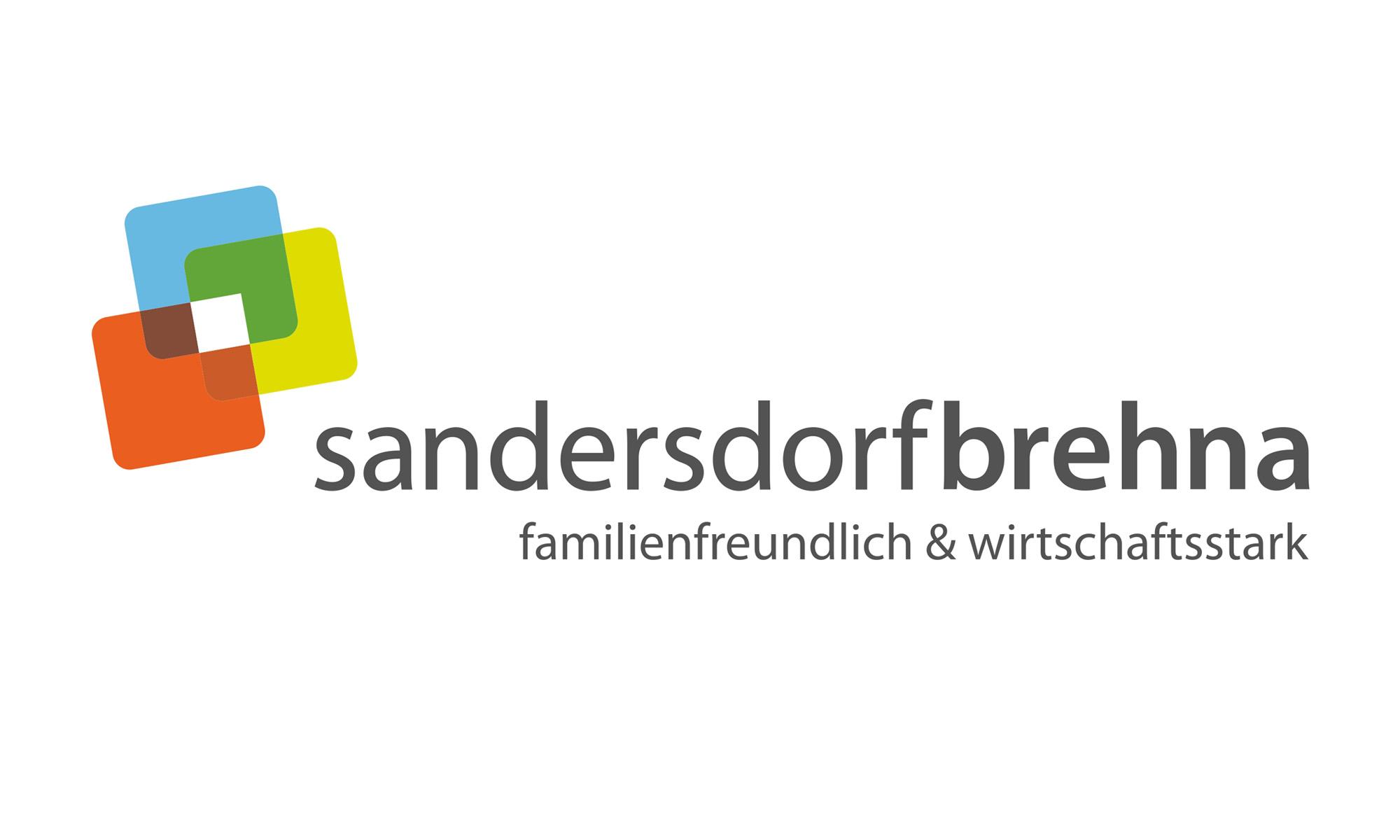 Logo Stadt Sandersdorf-Brehna