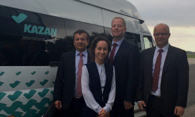Mitteldeutsches Logistiknetzwerk in Tatarstan vorgestellt