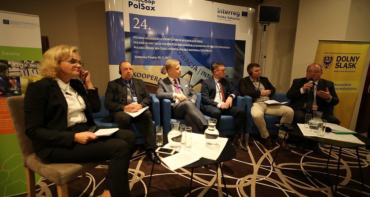 Netzwerken beim 24. Polnisch-Deutsch-Tschechischen Kooperationsforum