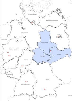 Regionaler Verantwortungsbereich JLL Industrial Agency Leipzig