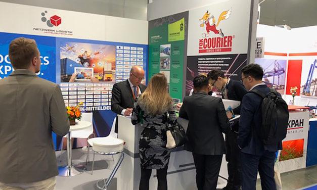 TransRussia 2018: Netzwerk Logistik Mitteldeutschland wirbt in Moskau für Logistikregion