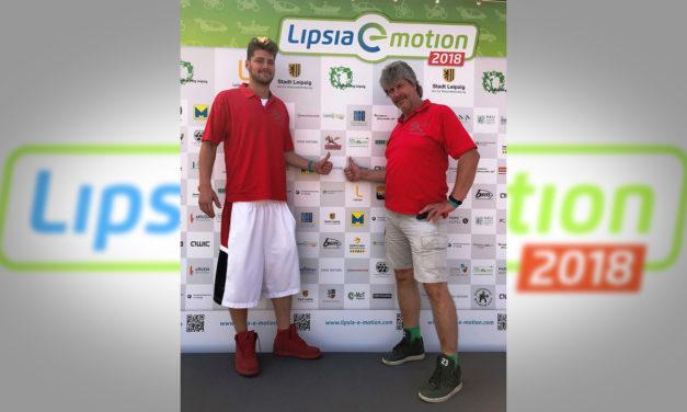 Lipsia-e-motion 2018– Rallye der Elektromobile macht am Leipzig/Halle Airport Station