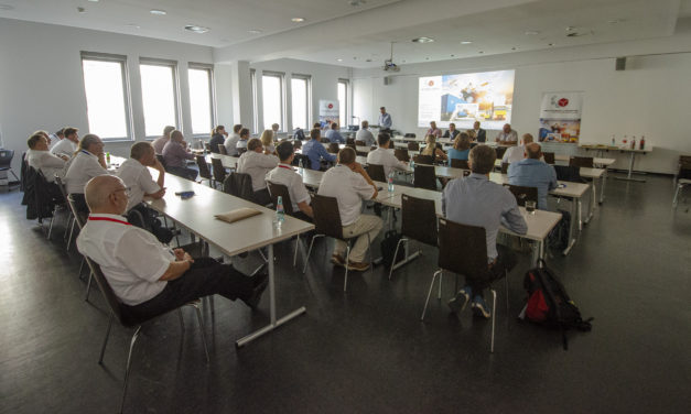 Mitgliederversammlung in der Universität Leipzig