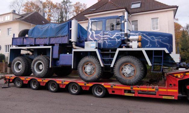 Rarität in Russland entdeckt: Sachsenland bringt Schwerlaster-Oldtimer wieder nach Deutschland