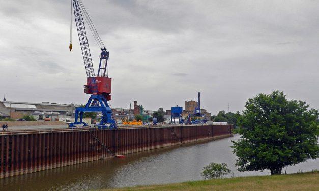 Hafen Torgau wieder trimodal