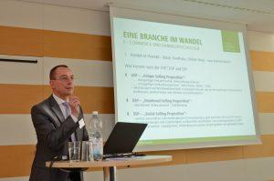 Prof. Borchert beim LogistikPlan Forum 2019; Foto: Egbert Sass