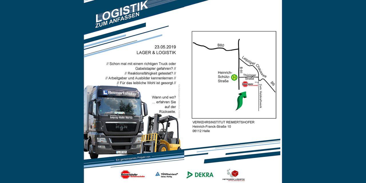 Logistik zum Anfassen in Halle (Saale) am 23.05.2019