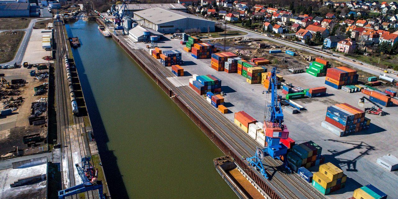 Logistik braucht Infrastrukturen – Hafen Riesa wichtiger Standortfaktor für Region