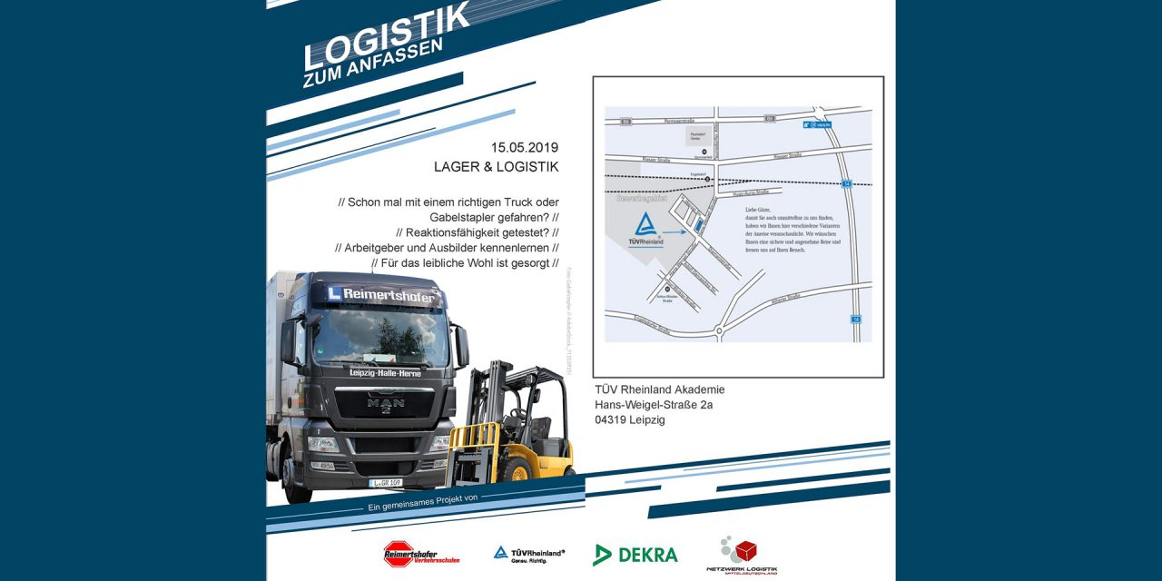Logistik zum Anfassen in Leipzig am 15.05.2019