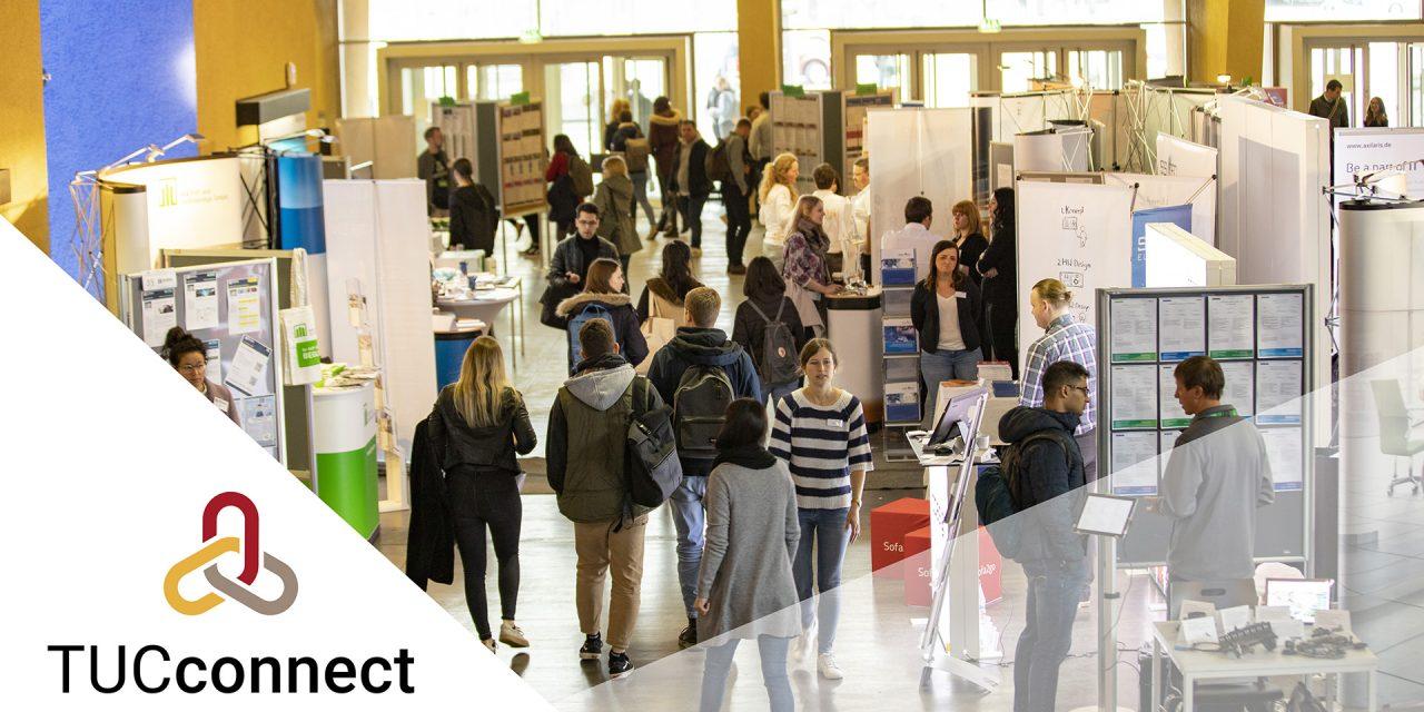 TUCconnect Herbst 2019 – Karrieremesse an der TU Chemnitz