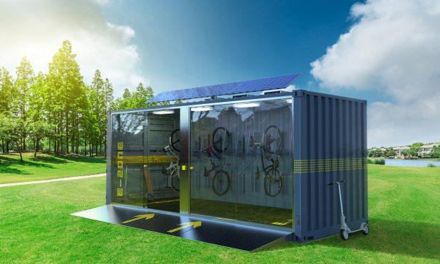 Lautlos über den Hockenheimring  – Mein Lagerraum³ präsentiert erstmals eMobility-Container