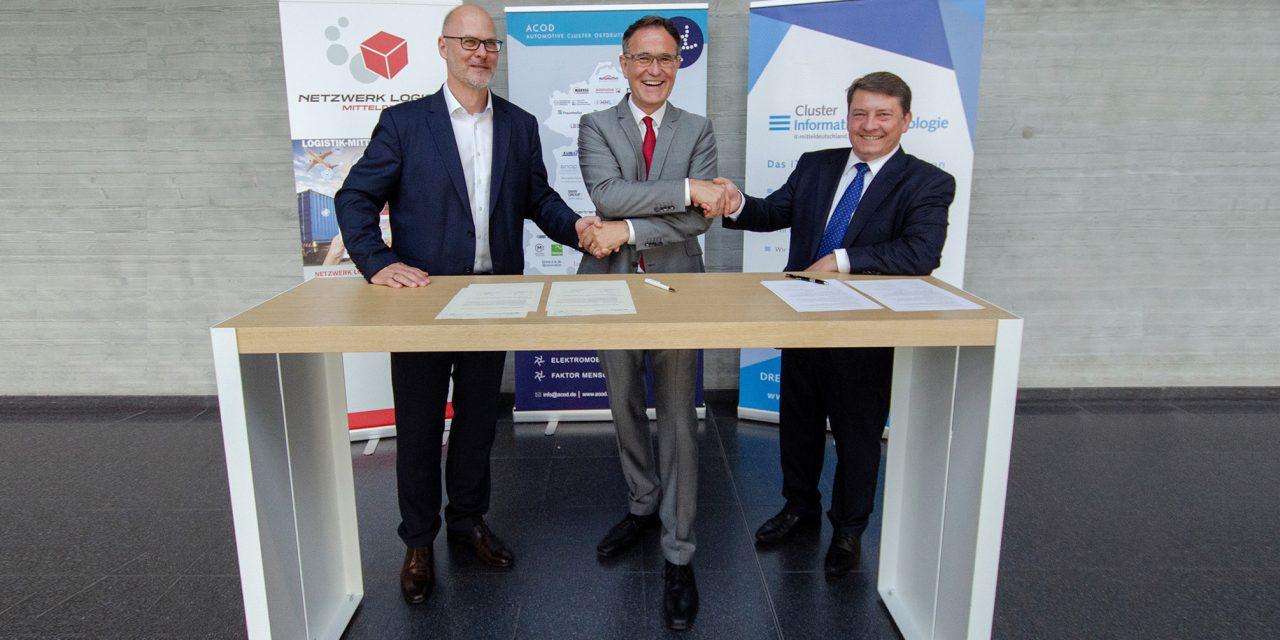 Zukunft der Mobilität breiter denken: Automotive-, IT- und Logistikbranche stärken Zusammenarbeit in Mittel- und Ostdeutschland