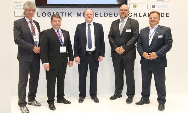 Mitteldeutsche Logistiker mit starker Präsenz auf wichtigster Branchenmesse