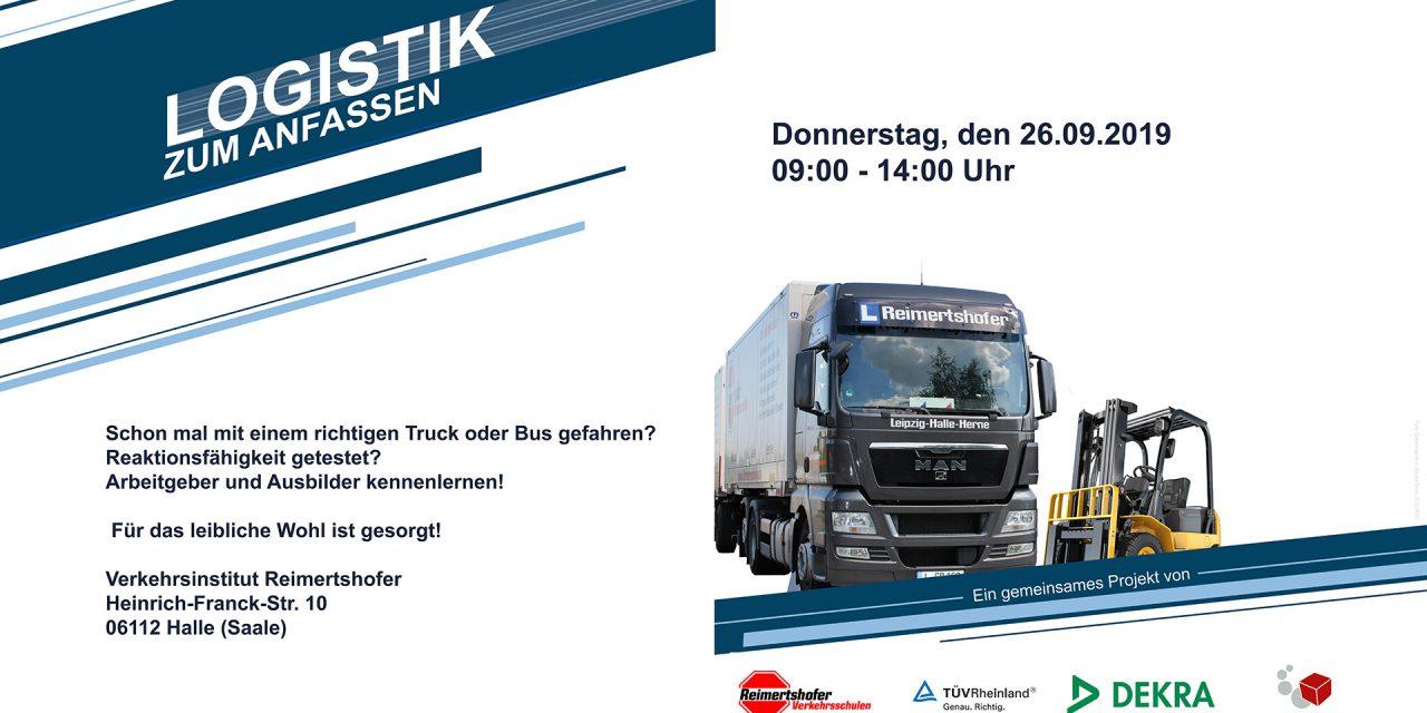 Logistik zum Anfassen in Halle (Saale)