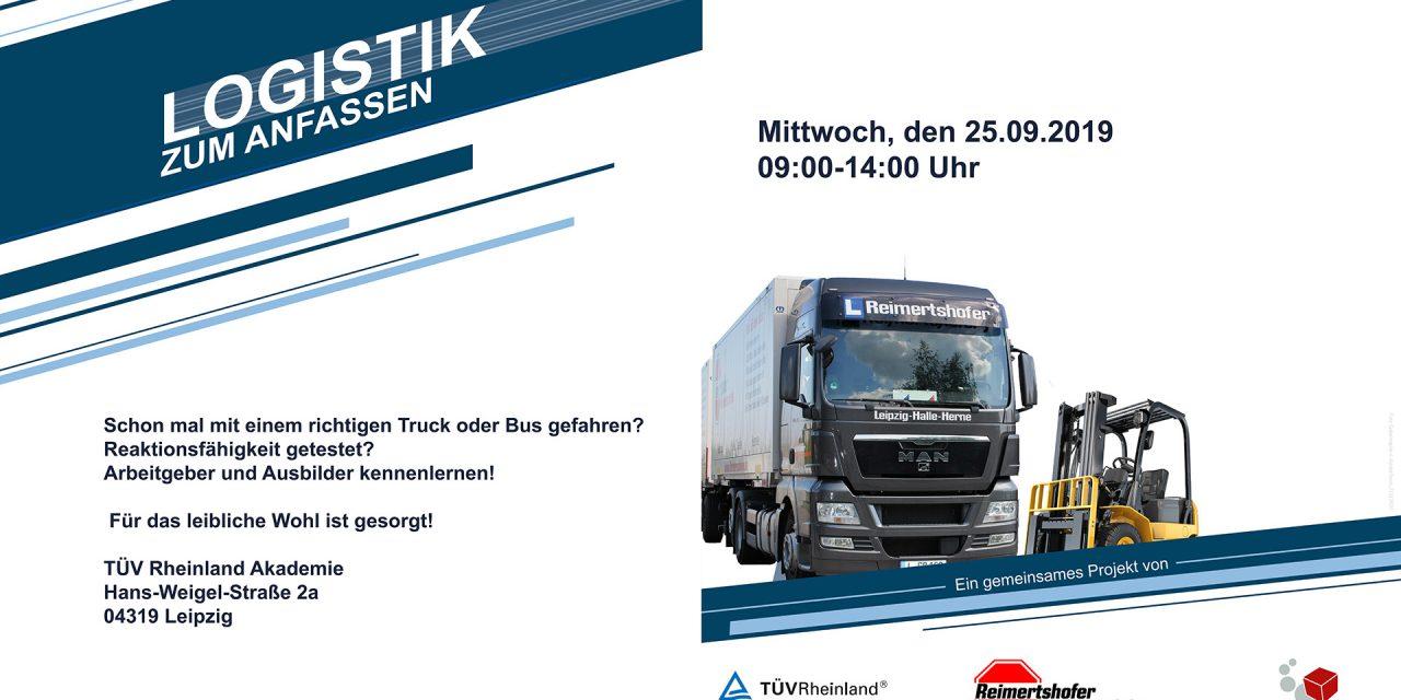 Logistik zum Anfassen in Leipzig
