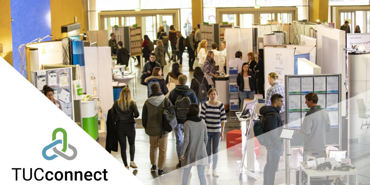 Das Regionalbüro Chemnitz empfiehlt die TUCconnect Frühling 2020 am 12.05.2020