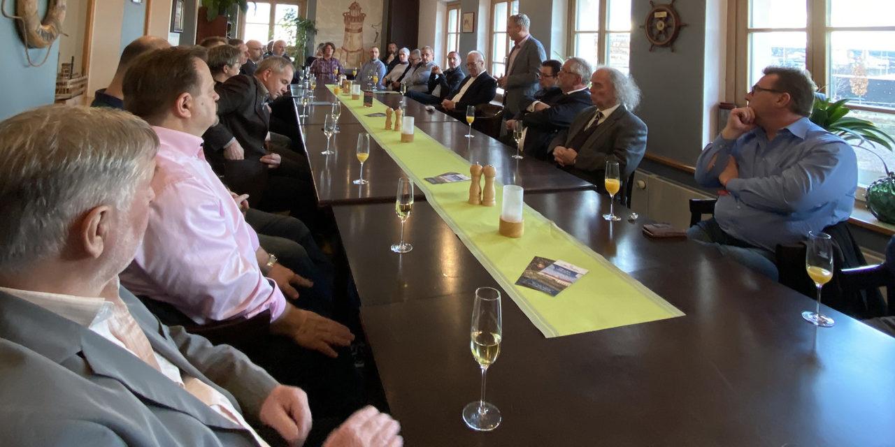 Neujahrsempfang der Sächsischen Binnenhäfen – Investitionen im Hafen Dresden stehen an