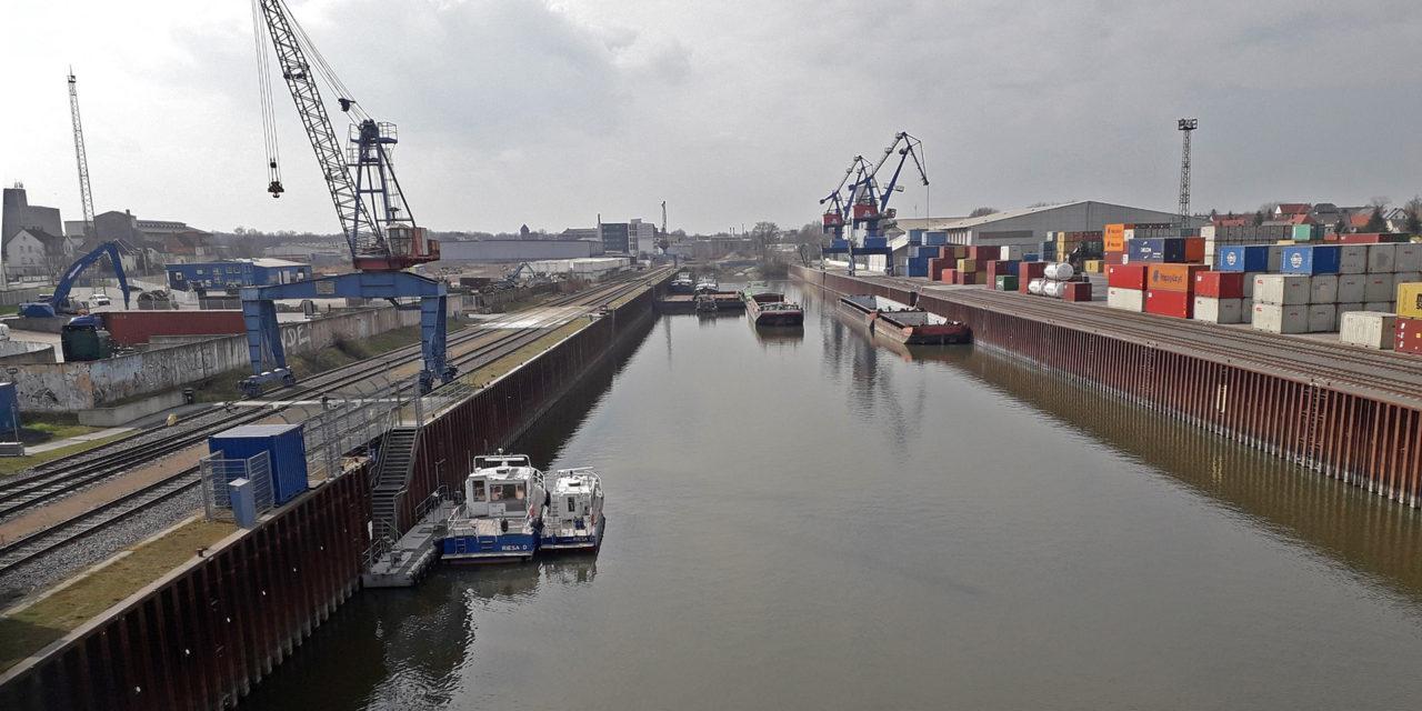 Sächsische Binnenhäfen erfüllen ihren Auftrag und sichern logistische Infrastrukturen in der Corona-Krise
