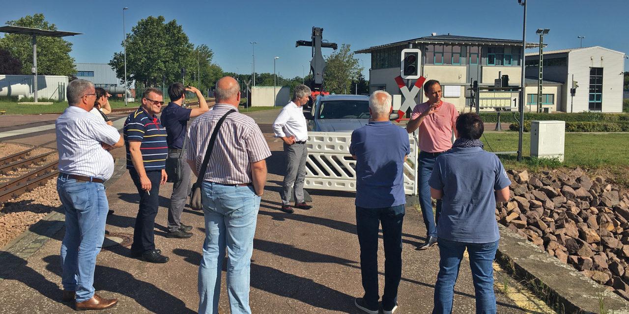 AG Marketing zu Gast bei der Container Terminal Halle Saale