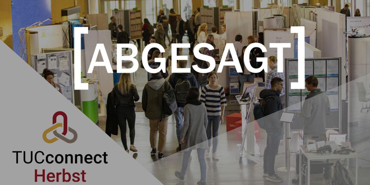 TUCconnect Herbst 2020 – Karrieremesse an der TU Chemnitz