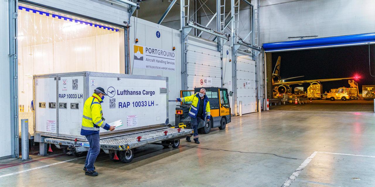Herausforderung Impfstofftransporte: In Mitteldeutschland könnten schon bald Impfstoffe am Leipzig/Halle Airport umgeschlagen werden