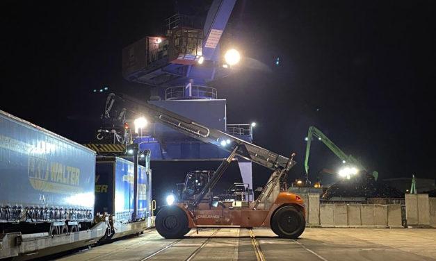 TrailerPort Alberthafen Dresden: Von der Straße auf die Schiene nach Skandinavien