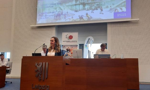 Leipzig Urban Hub Convention: Digitale und nachhaltige Innovationen für die letzte Meile